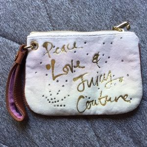 Wristlet wallet by Juicy Couture